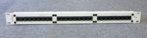 "Avaya 700012917 IP600 Patch Panel 24 Port 1U 19"" RJ45 Cat5 For 19"" Racks"